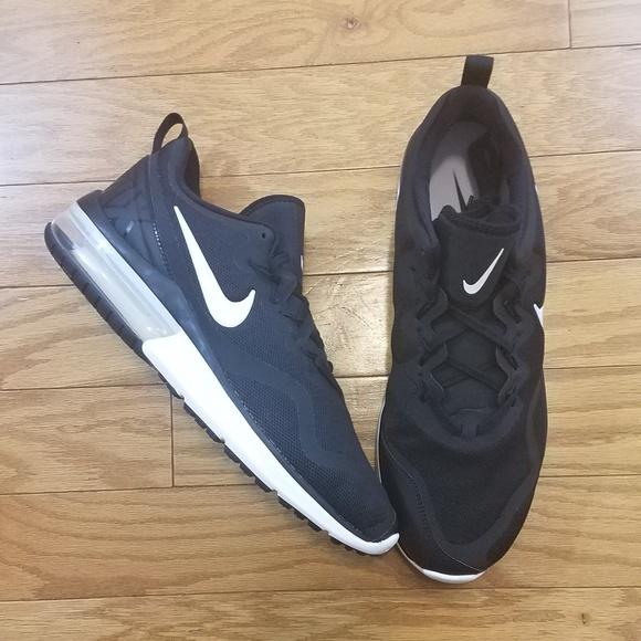 Men's Nike Air Max Fury Shoes 12 BlackWhite $120 NWT